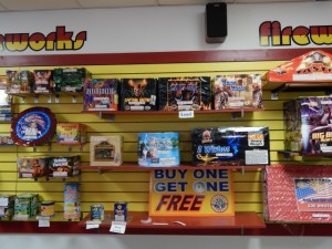 The biggest selection of Fireworks in the area!